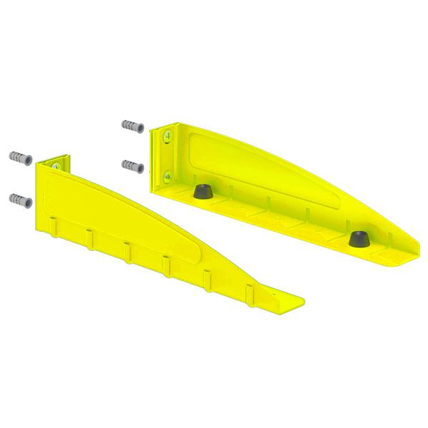 Suporte Multivisão F-Decor para Forno Elétrico e Microondas Amarelo
