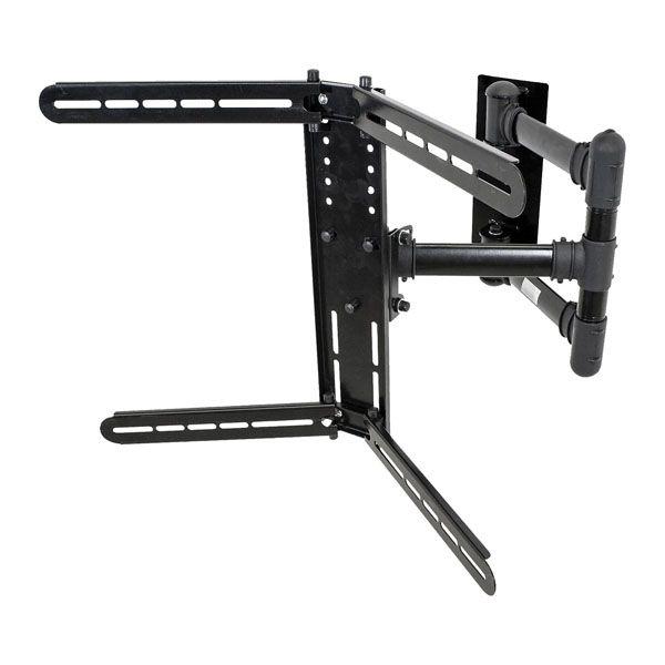 Suporte Triarticulado Multivisão STPA700-PRETO com inclinação para TV de 32 a 70 polegadas