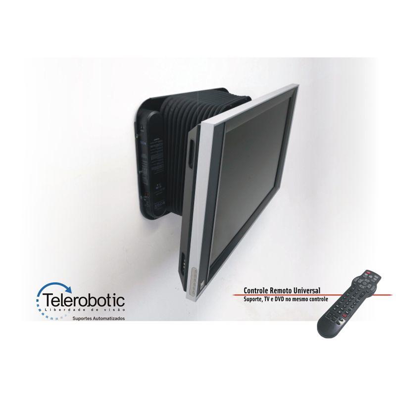 Suporte Tv Automatizado Parede Multivisão Telerobotic x-Arm de 40 a 70 Pol e C.Remoto