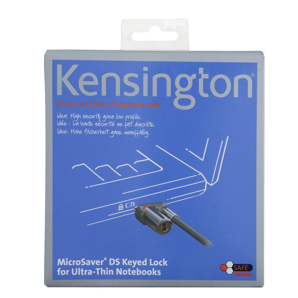 Trava Ultrafina com Cadeado Kensington Microsaver K64590BR 246743