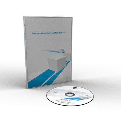 Curso Métodos Quantitativos Matemáticos em DVD Videoaula