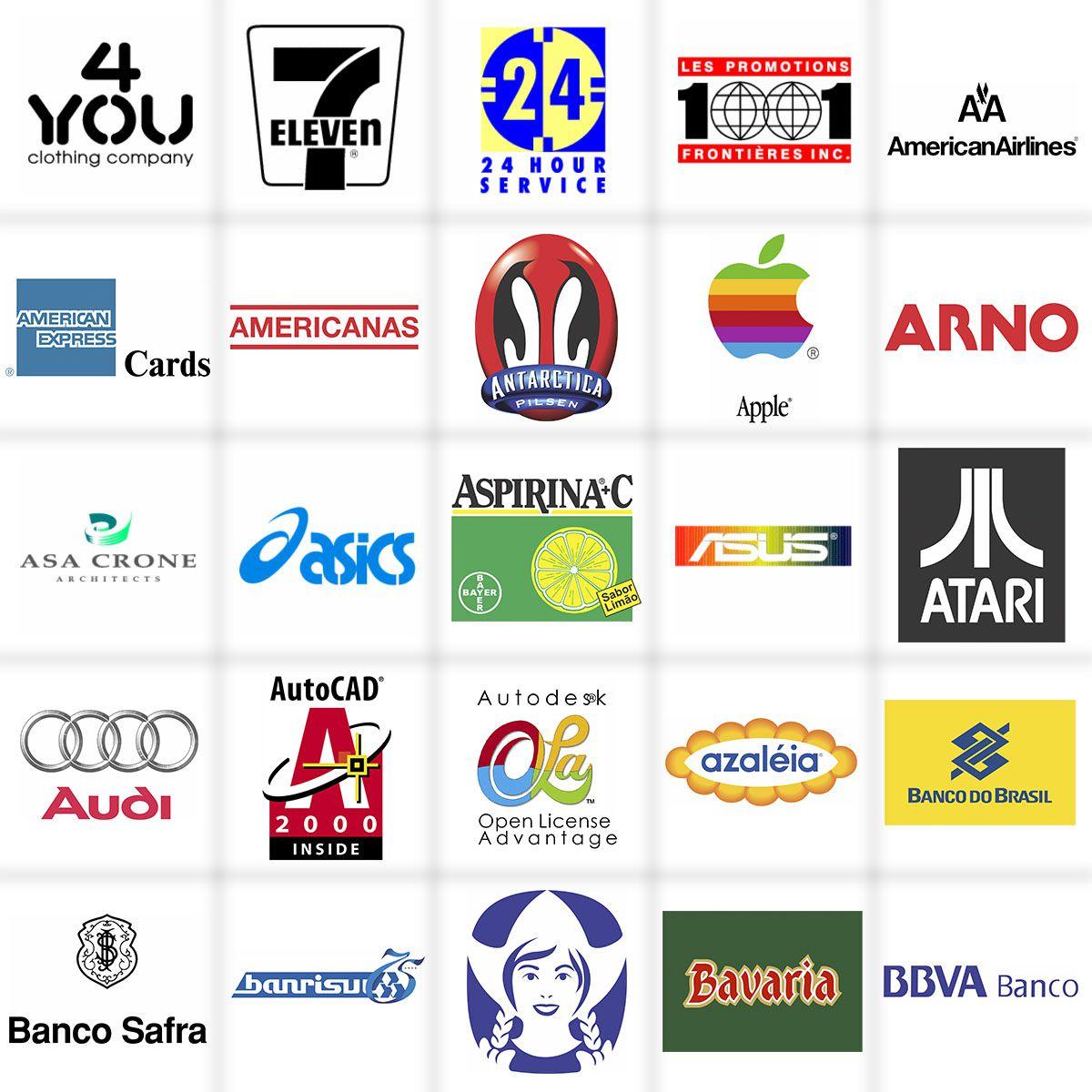 160 Mil Vetores Estampas Logo Marcas Empresas Famosas
