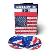 06 Cursos de Inglês em 04 DVD Videoaula / Áudioaula / Apostilas PDF