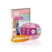 Curso de História e Geografia - Ensino Fundamental 1º Grau (5º Ano) em 02 DVDs Videoaula