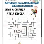 Atividades para Alfabetização - Educação Especial