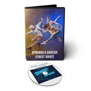 Curso aprenda a Dançar Street Dance em DVD Videoaula