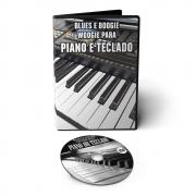 Curso Blues e Boogie Woogie para Piano ou Teclado em DVD Videoaula
