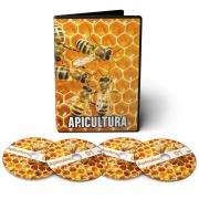Curso de Apicultura - Criação de Abelhas em 03 DVDs Videoaula + DVD Apostilas Digitais