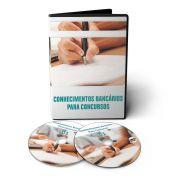 Curso de Conhecimentos Bancários para Concursos em 03 DVDs Videoaula