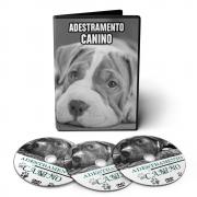 Curso de Educação de Filhotes, Banho e Tosa, e Adestramento Canino em 03 DVDs Videoaula