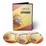 Curso de Espanhol - Viaje Al Espanõl em 06 DVDs Videoaula