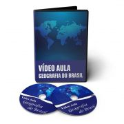 Curso de Geografia do Brasil e Mundial em 02 DVDs Videoaula