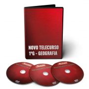 Curso de Geografia em 03 DVDs Videoaula