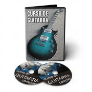 Curso de Guitarra do Básico ao Avançado em 02 DVDs Videoaula
