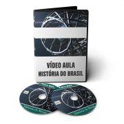 Curso de História do Brasil e Mundial em 02 DVDs Videoaula
