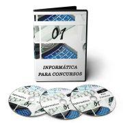 Curso de Informática para Concursos em 03 DVDs Videoaula