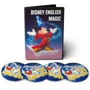 Curso de Inglês Disney Magic English em 09 DVDs Videoaula