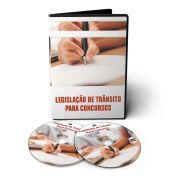 Curso de Legislação de Trânsito para Concursos em 02 DVDs Videoaula