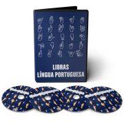 Curso de Língua Portuguesa Libras 1º Ano em 04 DVDs Videoaula