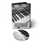 Curso de Piano - Harmonia e Improvisação em DVD Videoaula