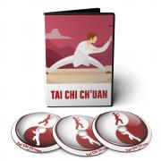 Curso de Tai Chi Chuan em 02 DVDs Videoaula + CD com Apostilas Digitais