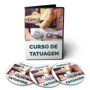 Curso de Tatuagem em 03 DVDs Videoaula