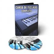 Curso de Teclado do Básico ao Avançado em 02 DVDs Videoaula