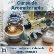 Curso on-line em videoauala de Aromaterapia com Certificado