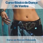 Curso on-line em videoaula Básico de Dança do Ventre