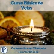 Curso on-line em videoaula Básico de Velas com Certificado