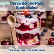 Curso on-line em videoaula Bolo no Pote