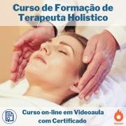 Curso on-line em videoaula de Formação de Terapeuta Holistico com Certificado