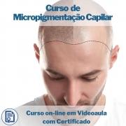 Curso on-line em videoaula de Micropigmentação Capilar com Certificado