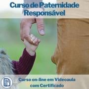 Curso on-line em videoaula de Paternidade Responsável com Certificado
