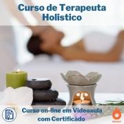 Curso on-line em videoaula de Terapeuta Holistico com Certificado