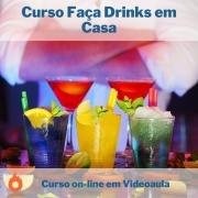 Curso on-line em videoaula Faça Drinks em Casa