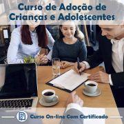Curso Online de Adoção de Crianças e Adolescentes com Certificado