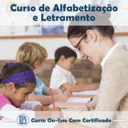 Curso Online de Alfabetização e Letramento – Informativo com Certificado