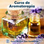 Curso Online de Aromaterapia com Certificado