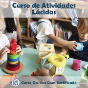 Curso Online de Atividades Lúdicas com Certificado