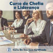 Curso Online de Chefia e Liderança com Certificado