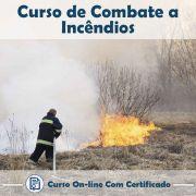 Curso Online de Combate a Incêndios com Certificado