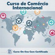 Curso Online de Comércio Internacional com Certificado