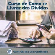 Curso Online de Como se Livrar das Dívidas com Certificado