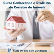 Curso Online Conhecendo a Profissão de Corretor de Imóveis com Certificado