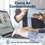 Curso Online de Contabilidade com Certificado