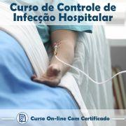Curso Online de Controle de Infecção Hospitalar com Certificado