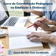 Curso Online de Coordenação Pedagógica de Educação a Distância com Certificado