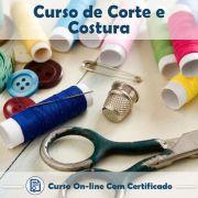 Curso online de Corte e Costura + Certificado