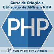Curso Online de Criação e Utilização de APIs em PHP com Certificado